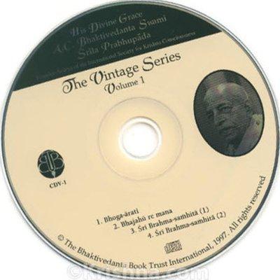 CDV-01  The Vintage Series - Bhajahu Re Mana