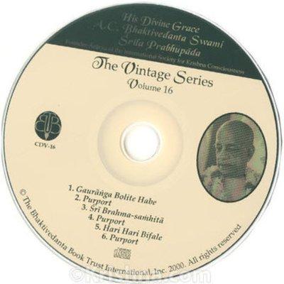 CDV-16  The Vintage Series - Hari Hari Bifale