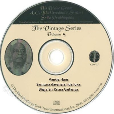 CDV-06  The Vintage Series - Vande 'Ham
