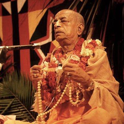 Chant japa with Srila Prabhupada
