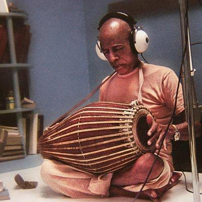 Srila Prabhupada Teaches Mridunga